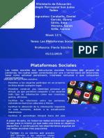 Las redes sociales - Exposición ppt
