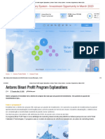 Antares Binari Profit Program March 2020 2