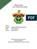 tugas kimdas atom