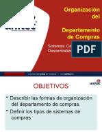 Organización del Departamento de Compras