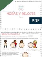 HORAS Y RELOJES (REPASO)