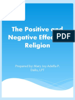 ITWR - The Positive and Negative Effects of Religion