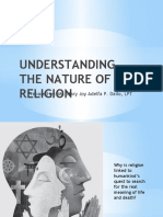 Itwr - Lesson 1 - Understanding the Nature of Religion