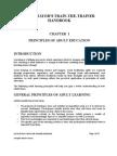 Facilitator's Train-The-trainer Handbook