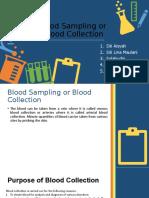 Blood Sampling