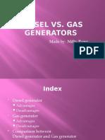 Diesel vs gas generators