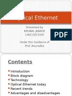 Optical Ethernet ppt.pptx