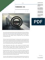 Cara mudah atasi IDM muncul pesan Forbidden (No Connections _ Permissions) saat ingin Download - ASHADIN.pdf
