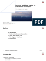 The influence of wind farm control on optimal wind farm layout