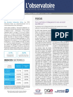 Observatoire de la petite entreprise n°76 FCGA – Banque Populaire
