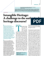 Intagible heritage