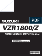 Intruder VZR1800 Supplement Service
