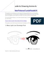 Beginner Guide to Drawing Anime