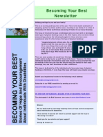 Becoming Your Best Newsletter - December 2010