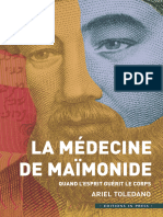 EBOOK  Toledano Ariel - La medecine de Maimonide