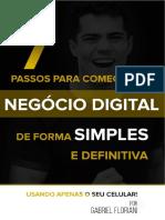 7 Passos Para Começar Um Negócio Digital de Forma Simples