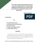 Full Judgement on Republic v Eugene Baffoe Bonnie and Four Others