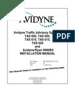 TAS6XX_Install Manual_2011