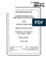 CO2 Fire Extinguishing System Manual PREUSSAG