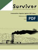 Spring 2004 The Survivior Newsletter ~ Desert Survivors