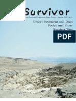 Summer 2007 The Survivior Newsletter ~ Desert Survivors