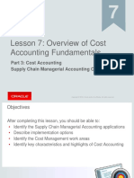 Fusion Cost Accounting