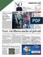Corriere Della Sera Milano 13 Maggio 2020