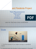 Skateboard Parabola Project