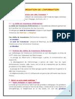 20. NUMERISATION DE L'INFORMATION