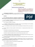 DECRETO Nº 10.345, DE 11 DE MAIO DE 2020
