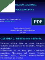 CATEDRA 1. Solidificación y difusión.pdf