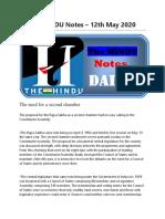 The HINDU Notes 12-05-2020 www.job9.in.pdf