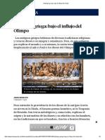 Mitología griega_ bajo el influjo del Olimpo