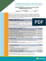 ANEXO 1 LISTA DE CHEQUEO IDENTIFICACION FACTORES GENERADORES DE FATIGA