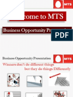 Business Opportunity Presentation New 14 Aep 2010