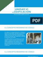 UNIDAD VI CODIFICACIÓN.pptx