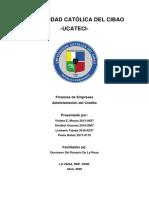 Administración del Crédito TF1