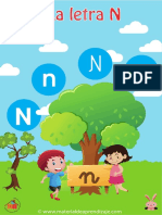 12 La Letra n Material de Aprendizaje (1)