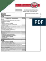 Checklist Plataformas
