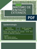 TRAUMATISMO DE GENITALES EXTERNOS