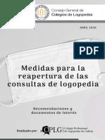 Medidas Reapertura Consultas CGCL-CPLGA 24.04.20