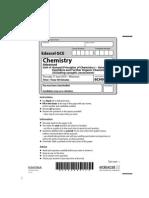 Chemistry Jun 2010 Actual Exam Paper Unit 4