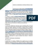 INDICADORES PARA EL MONITOREO DE LA BIODIVERSIDAD