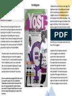 yosi magazine cover analysis