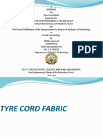 Tyre Cord Fabric