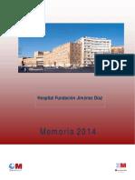 Memoria 2014 Fundacion Jimenez Diaz_OK.pdf