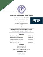 Proyecto final Analisis competitivo empresas licoreras de ron blanco