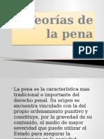 5 TEORIA DE LA PENA