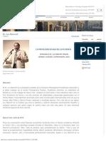MARINOFF, L., Entrevista; La psicología es hija de la filosofía-1