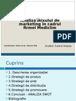 model de prezentare PP